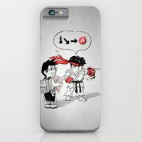 iPhone & iPod Case featuring Hadoken? by Patrick Zedouard c0y0te7