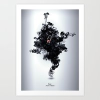 Art Print featuring Ink Panther by Falcon White