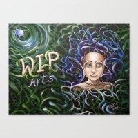 Debbi Thompson - WIP Arts Canvas Print