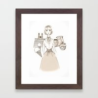 Roman Holiday - Movies & Outfits Framed Art Print