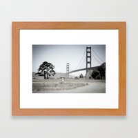 Golden Gate Bridge - San Francisco - EEUU  Framed Art Print
