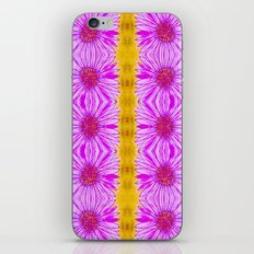 Purple Aster Flowers iPhone & iPod Skin