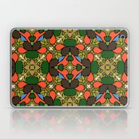 Retro Orange Laptop & iPad Skin