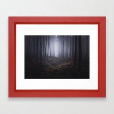 Fog of Wychwood Framed Art Print
