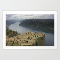 Preikestolen, Norway (2) Art Print