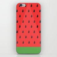Watermelon Slice iPhone & iPod Skin