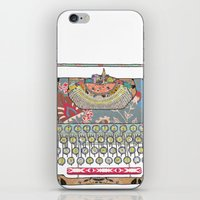 I DON'T KNOW WHAT TO WRI… iPhone & iPod Skin