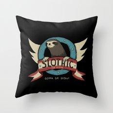 slothic Throw Pillow