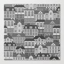 Urban. Black and white Canvas Print