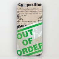 Out of Order iPhone & iPod Skin