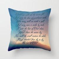 Love Of God Throw Pillow