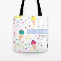 Ice Cream Therapy Tote Bag