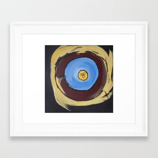 Kara's Mandala Framed Art Print
