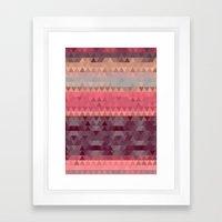 A Cute Angle Framed Art Print