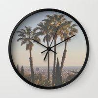 L.A. Wall Clock