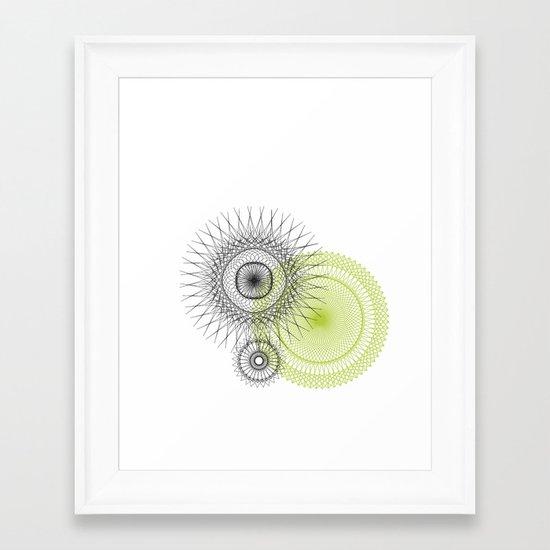 Modern Spiro Art #3 Framed Art Print