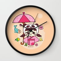 Love Begings Wall Clock
