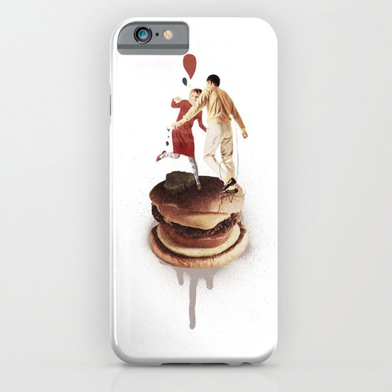 These Burgers Are Crazy II  | Collage iPhone & iPod Case