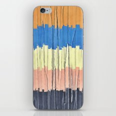 Textured Stripes Abstract iPhone & iPod Skin