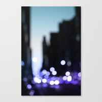 Big lights will inspire you Canvas Print
