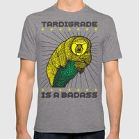 Tardigrade Mens Fitted Tee Tri-Grey SMALL