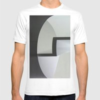 Cylinder Mens Fitted Tee White SMALL