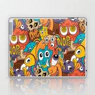 Weird Guys Pattern Laptop & iPad Skin