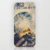 landscape iPhone & iPod Cases featuring One mountain at a time by HappyMelvin