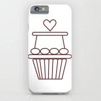 Cupcake Heart iPhone 6 Slim Case