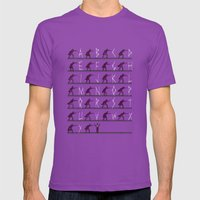From A to Zorro Mens Fitted Tee Ultraviolet SMALL