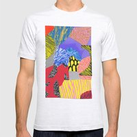 Colors & Shapes Mens Fitted Tee Ash Grey SMALL