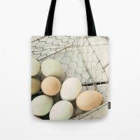Eggs in one basket Tote Bag