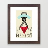 Locals Only - Ciudad De … Framed Art Print