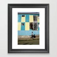 Point Arena Man Framed Art Print