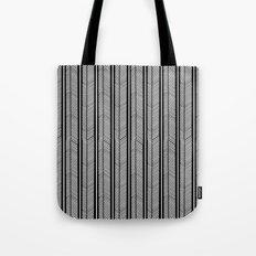 Herringbone Stripe Tote Bag