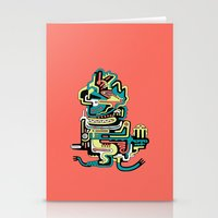 Geometric Beings Made Of… Stationery Cards