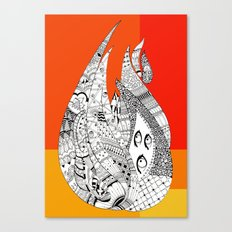 Fuego Canvas Print