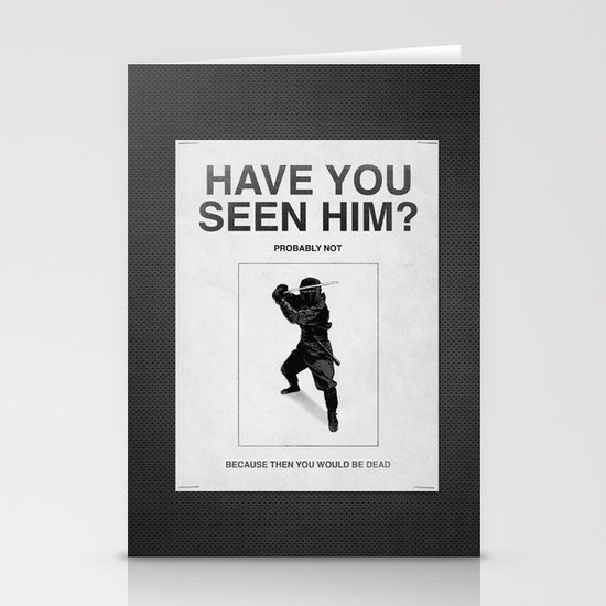 Have you seen him? Stationery Card