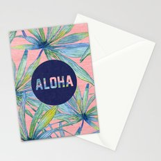 Aloha - pink version Stationery Cards