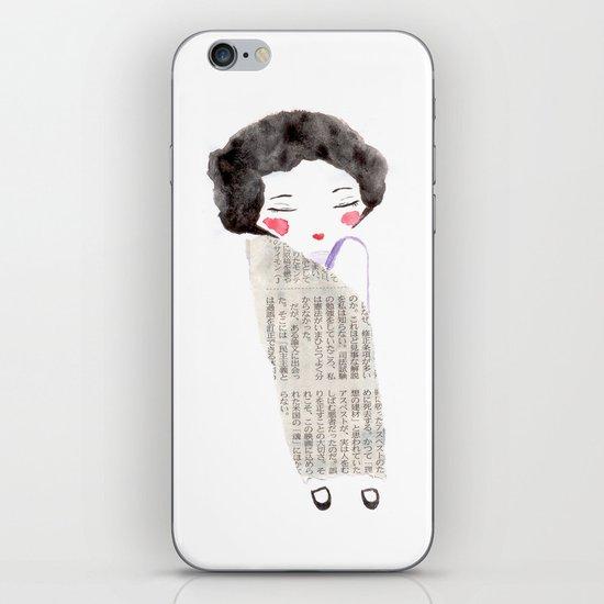 Kimono iPhone & iPod Skin