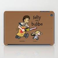 Sally And Bubba iPad Case