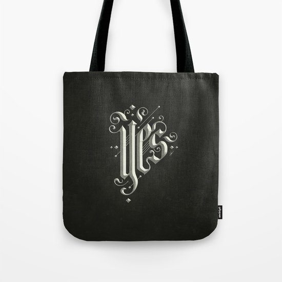Yes Tote Bag