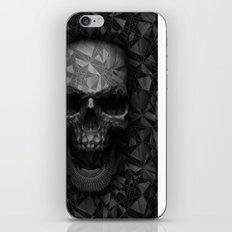 Geometric Skull iPhone & iPod Skin