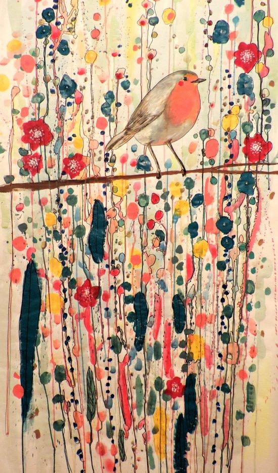 je ne suis pas qu'un oiseau Art Print