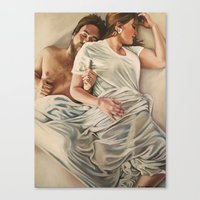 Origin of Love #4 Canvas Print