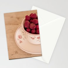 delicious red Stationery Cards