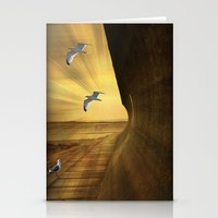 Sea Breezes. Stationery Cards