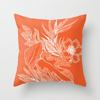 Hawaiian-Spring  Throw Pillow