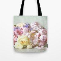 Vintage Roses Tote Bag