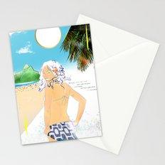 garota de ipanema Stationery Cards